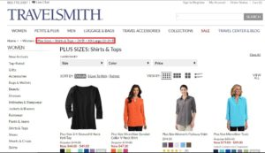 travelsmith plus-size clothing