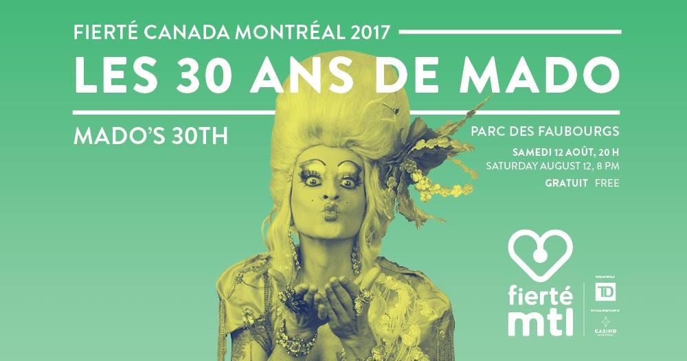 Fierté Canada Montréal 2017 mado lamotte