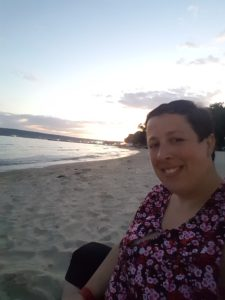plus-size bulgaria varna beach sunset