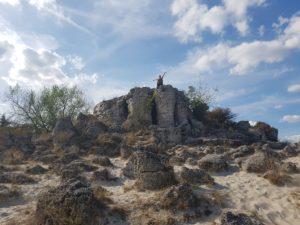 plus-size bulgaria varna stone forest stone desert Pobiti Kamani