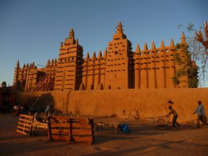 plus-size backpacker countries to visit mali djenne mosque