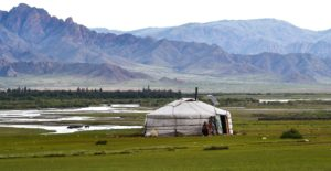 plus-size backpacker countries to visit mongolia steppe