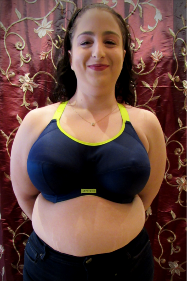 energise J-hook elomi plus size travel bra plus size backpacker