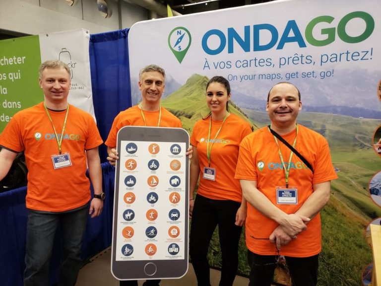 montreal outdoor adventure show ondago plus-size backpacker