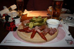 Polish meal restaurant Poland plus-size backpacker