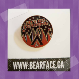 Pin Patch Mtl BRFC Bearface